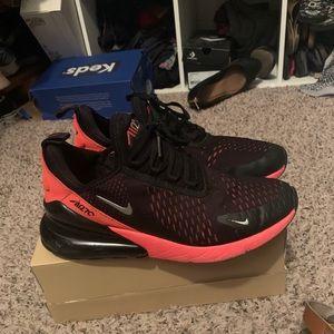 Boys black & red Nikes
